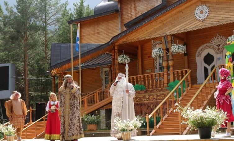 Праздник лаптя у Деда Мороза, Великий Устюг, 2015 г.