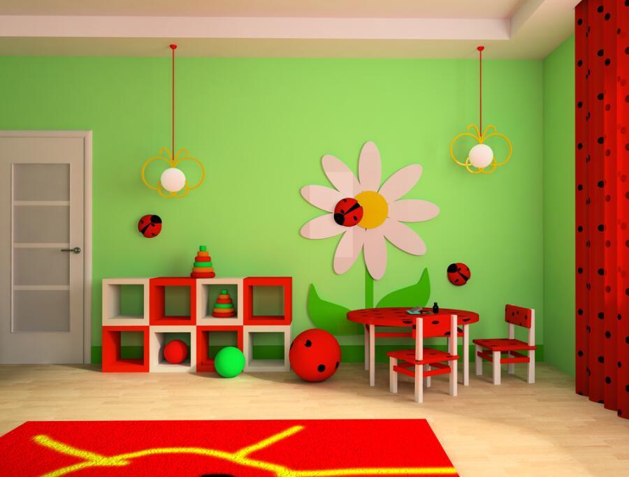 Обои в детскую комнату: как совместить приятное с полезным?