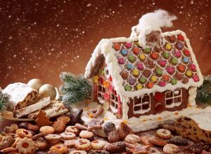 Чем украсить Рождество? Пряничные домики