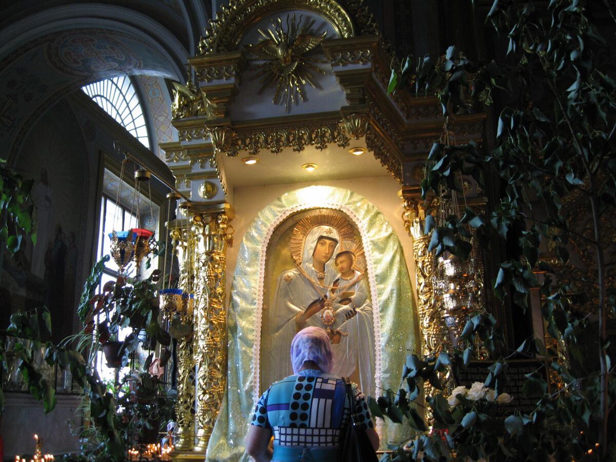 Икона Песчанской Божией Матери