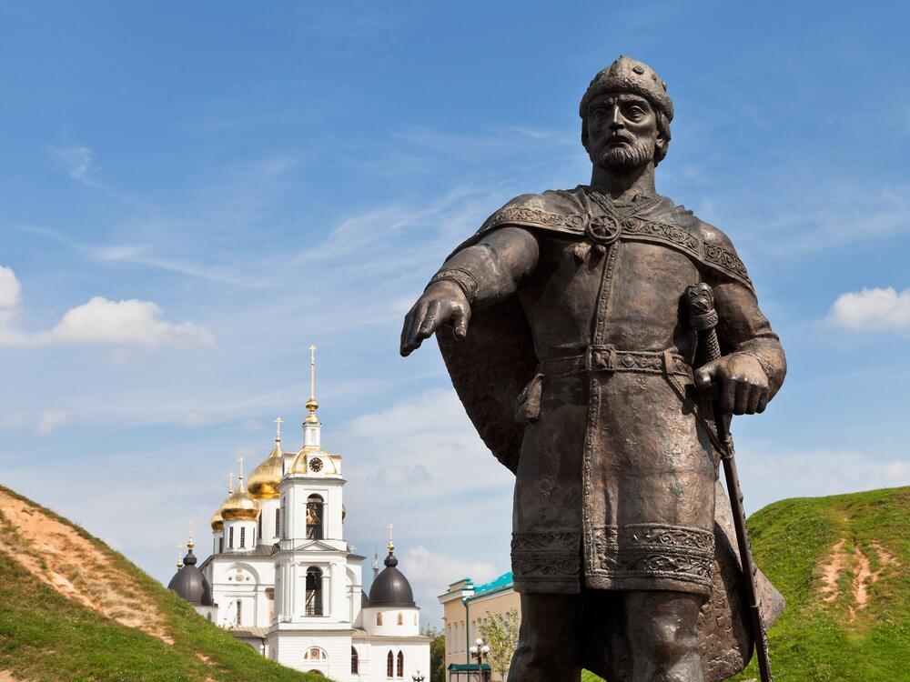 Памятник князю Юрию Долгорукому в Дмитрове, Россия