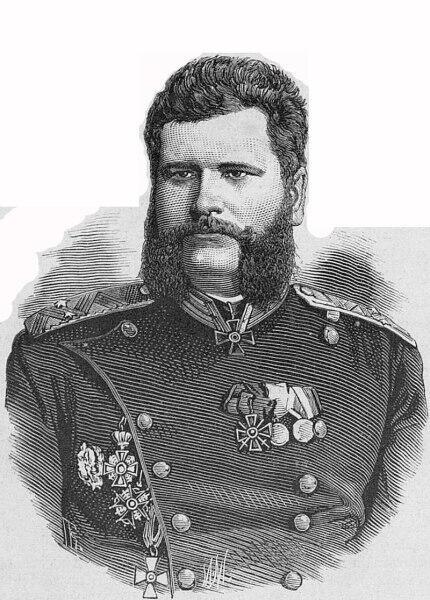 Генерал Лавров Василий Николаевич, 1877 г.