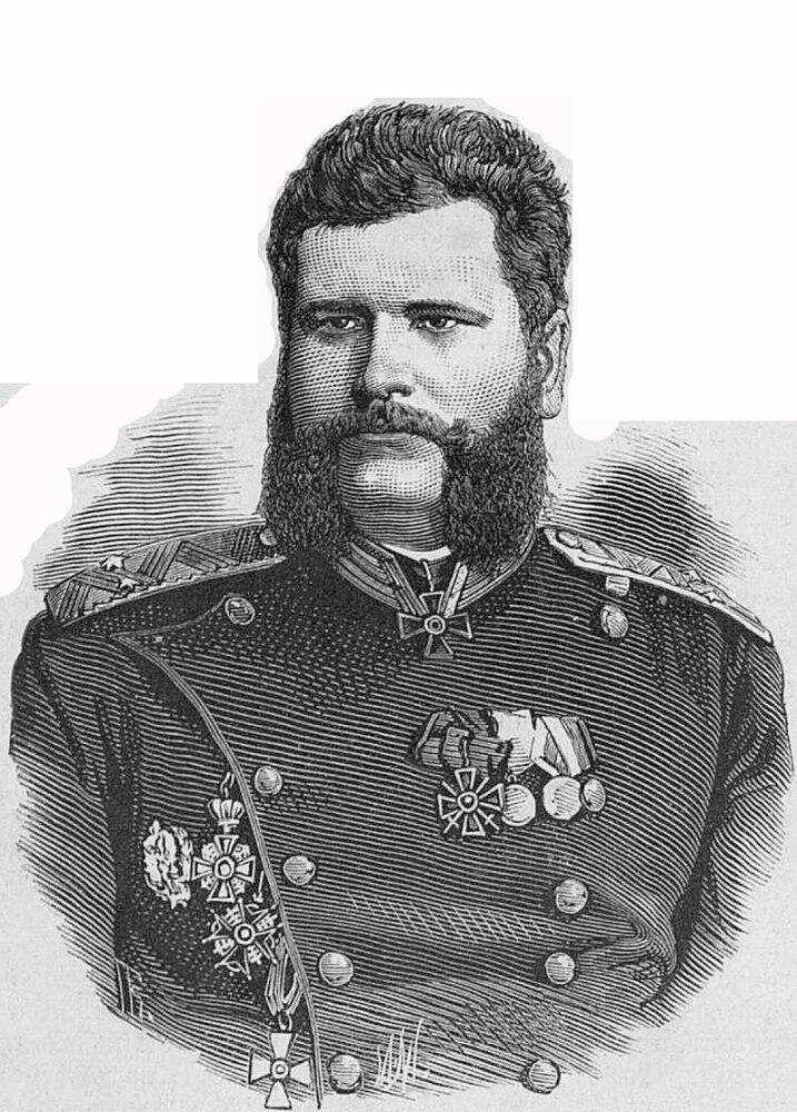 Генерал Лавров Василий Николаевич, 1877г.