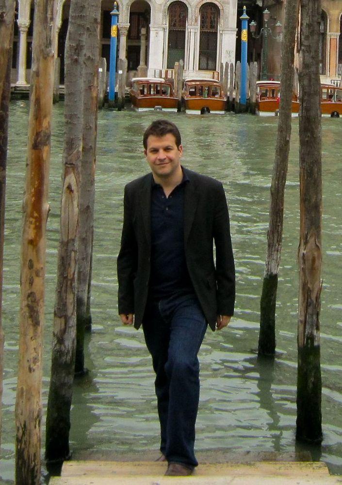 Гийом Мюссо в Венеции, 2010г.