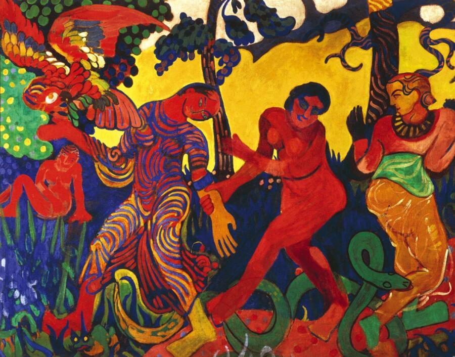 Андре Дерен, «Танец», 1906г.