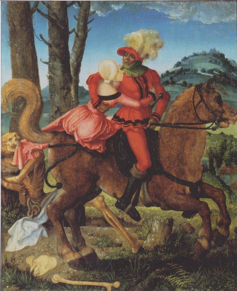 Ханс Бальдунг, «Рыцарь, девушка и смерть»