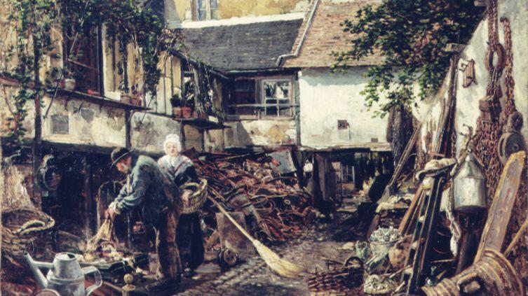 А. П. Боголюбов, «Старьевщик», 1876г.