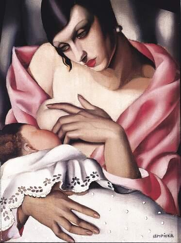 Тамара де Лемпицка, «Материнство», 1928г.