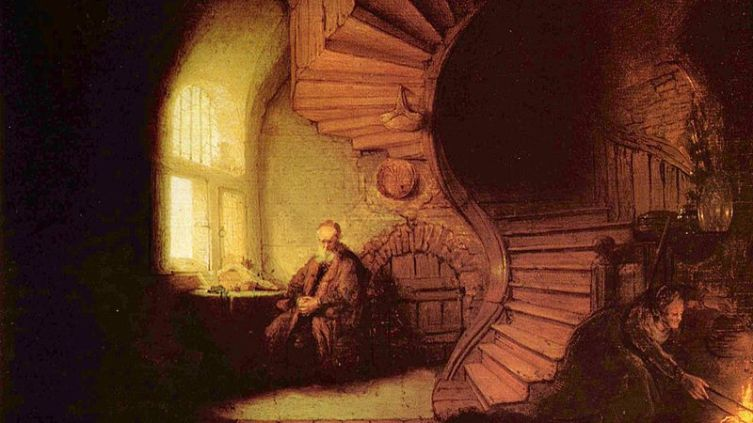 Рембрандт, «Философ в раздумьи»