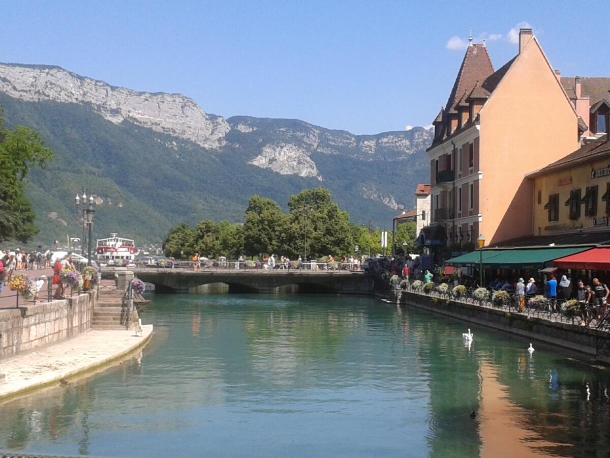 Городок Анси, Франция