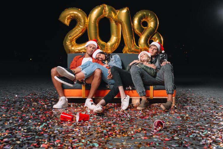Как совместить Новый год и сессию?