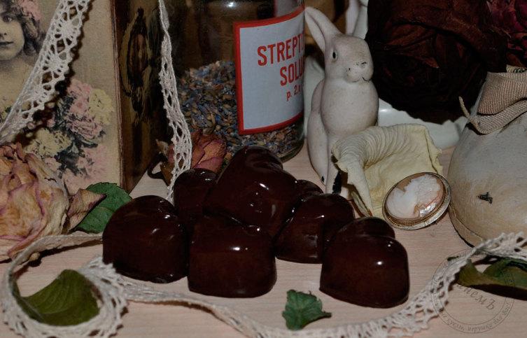 Как сделать шоколадные конфеты?
