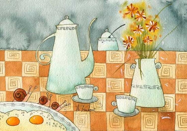 Виктория Кирдий, «Медленный завтрак»