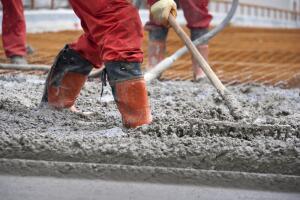 Когда изобрели бетон?