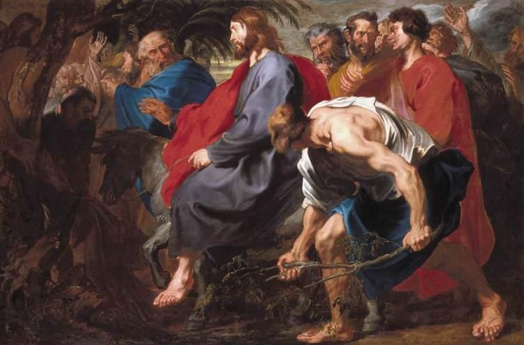 Антонис ван Дейк, «Вход Господень в Иерусалим», 1617 г.