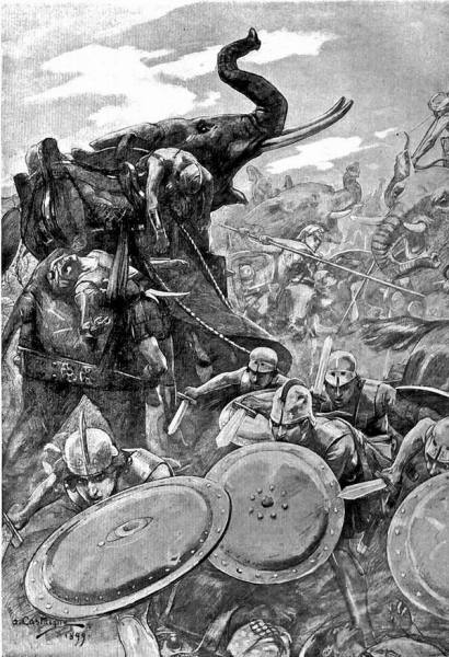 Андре Кастэнь, «Битва при Гидаспе»