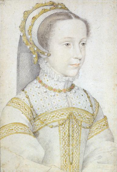 Франсуа Клуэ, «Мария Стюарт», ок. 1555—1559 гг.