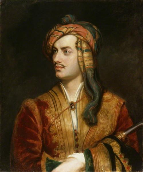 Т. Филлипс, «Лорд Байрон во время войны в Греции»