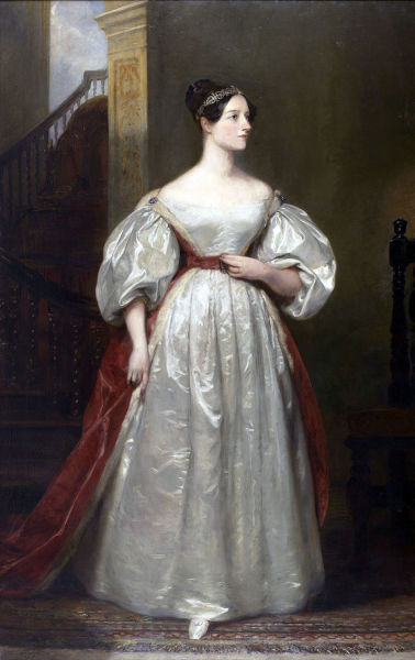 Маргарет Сара Карпентер, «Портрет Ады Лавлейс»,  1836 г.