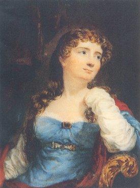 Ч. Хейтер, «Портрет Аннабеллы Байрон»,  1812 г.