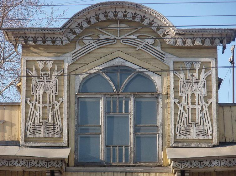 Декор вологодских особняков часто называют «деревянным кружевом». Дом Зернова, ок. 1910 г.