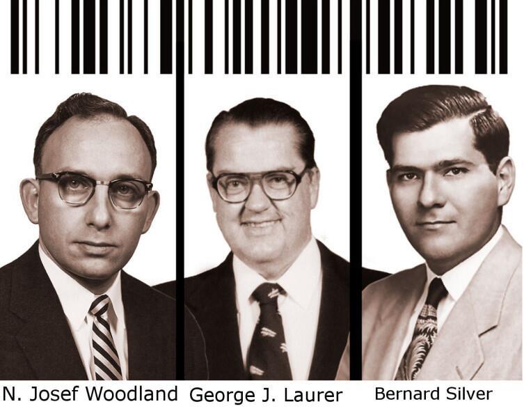 Изобретатели штрих-кодов