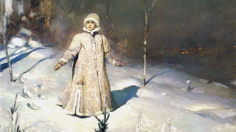 В. М. Васнецов, «Снегурочка», фрагмент, 1899 г.