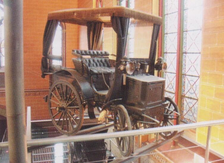 Автомобиль Левассора «Пам-пам» во Французской консерватории искусств и ремёсел, Париж