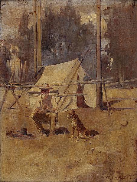 Джордж Ламберт, «Шеоак Сэм»,  1898 г.