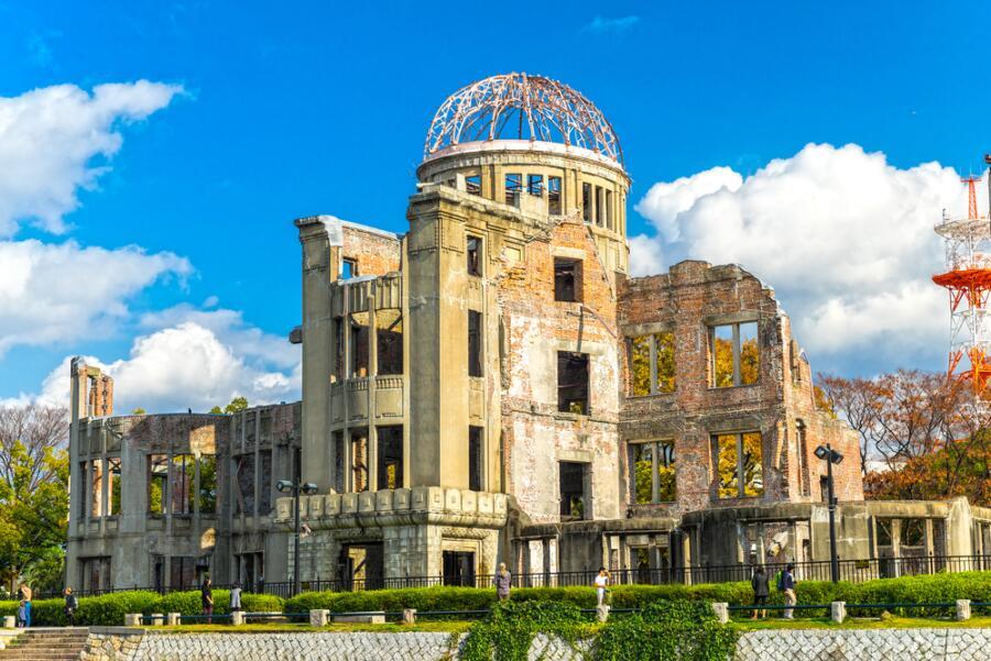 Мемориал «Купол атомного взрыва», Хиросима, Япония
