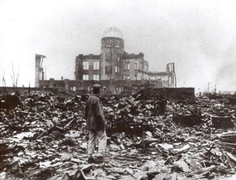 Хиросима была сметена с лица земли в один момент