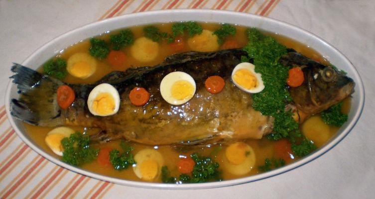 Фаршированная рыба — гефилте фиш