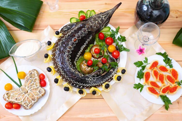 Как азербайджанцы готовят рыбу?