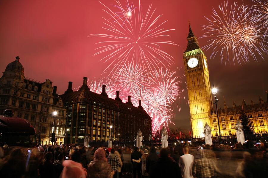 Как встречают Новый год в Англии?