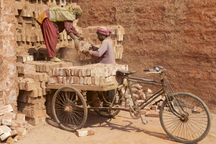 Велосипед говорит о трудном путешествии