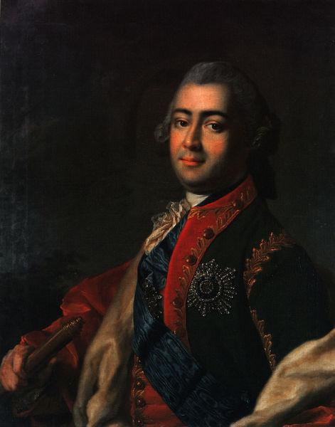 Неизвестный автор, «Портрет Алексея Разумовского»