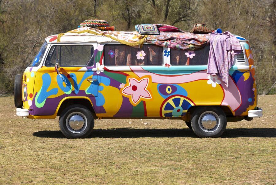 Фургон хиппи