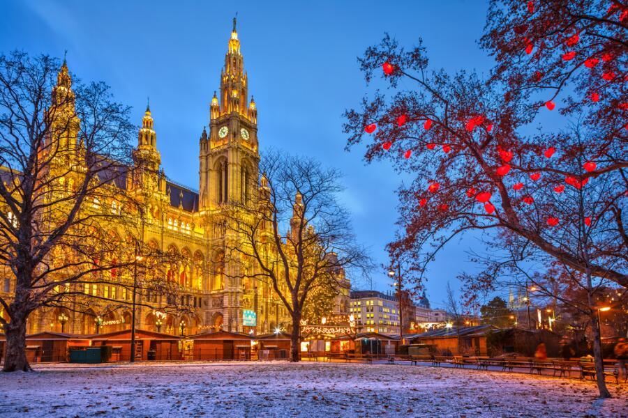 Городская ратуша Вены
