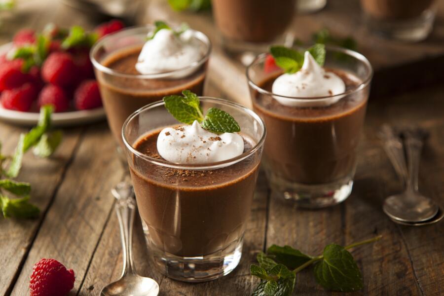Вы давно пробовали мусс? Готовим вкусный десерт.