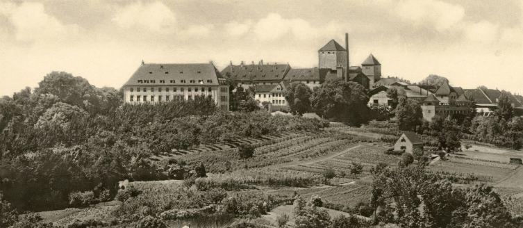 Здание пивоварни в 19-м веке