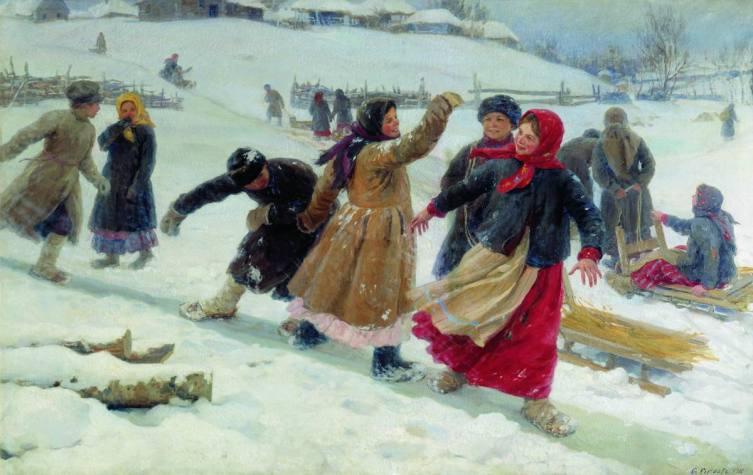 Ф. В. Сычков, «С гор», 1910 г.