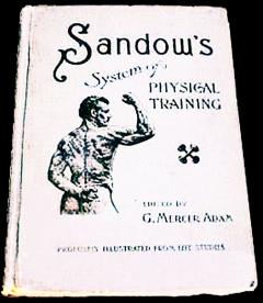 Книга «Сандова система физического тренинга» 1894 год