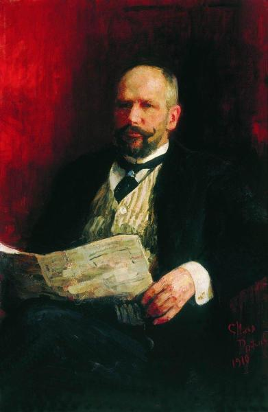 И. Е. Репин, «Портрет П. А. Столыпина», 1910 г.
