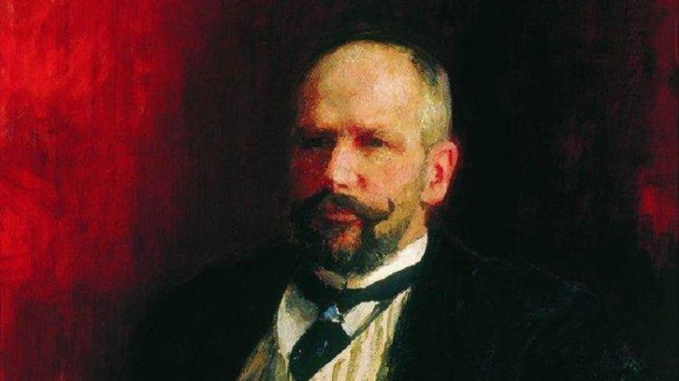 И. Е. Репин, «Портрет П. А. Столыпина», фрагмент, 1910 г.
