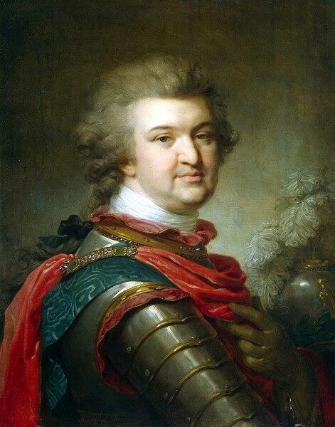 Иоганн Баптист Лампи Старший, «Григорий Александрович Потёмкин-Таврический», 1791 г.