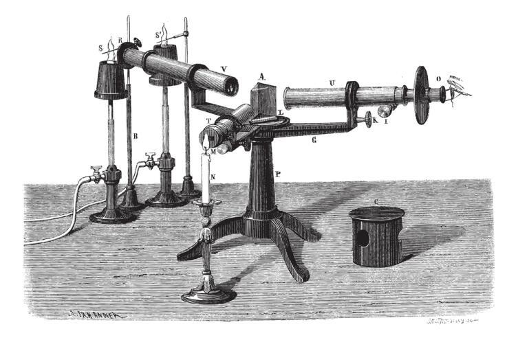 Древний спектроскоп