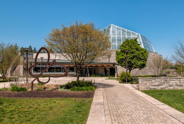 Ниагарский инсектарий (Niagara Parks Butterfly Conservatory)