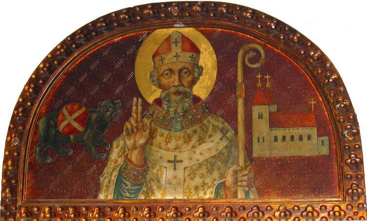 Святитель Корбиниан Фрайзингский