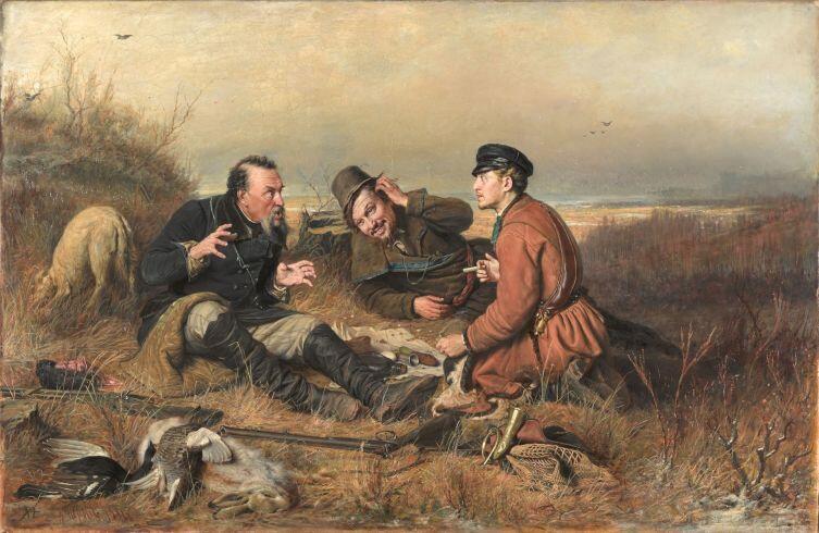В. Г. Перов, «Охотники на привале», 1871 г.Фото: ru.wikipedia.org
