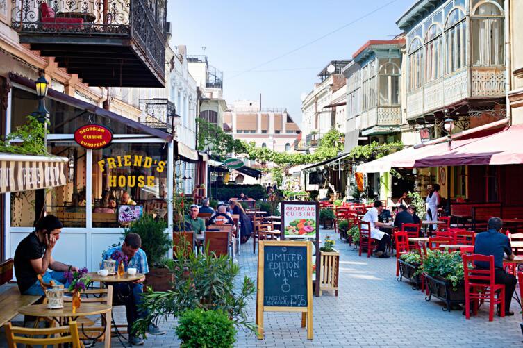 Уличные кафе, Тбилиси